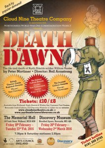 138-3956 Death at Dawn poster